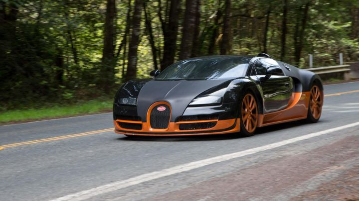 The Bugatti Veyron Super Sport Aaron Paul in Need for Speed movie