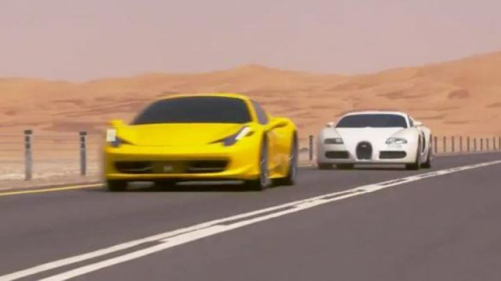 The Bugatti Veyron of Tyrese Gibson in Furious 7 - Movie Outfits and Products
