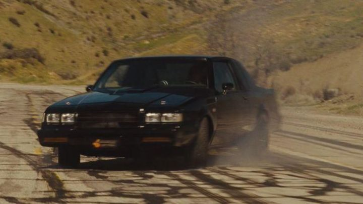 The Buick Grand National of Dominic Toretto (Vin Diesel) in Fast & the Furious 4 - Movie Outfits and Products