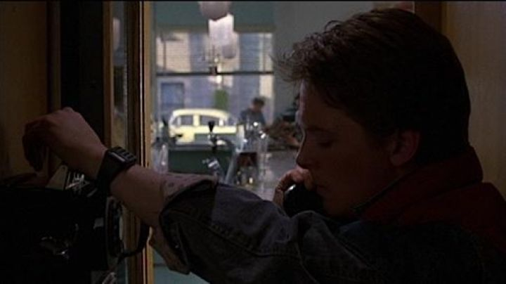 The Casio CA50 of Marty McFly (Michael J. Fox) in Back to the future movie