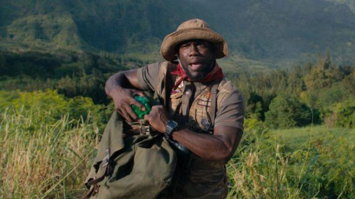 The Casio edifice men's watch Franklin Finbar / Mouse (Kevin Hart) in Jumanji : Welcome to the jungle Movie