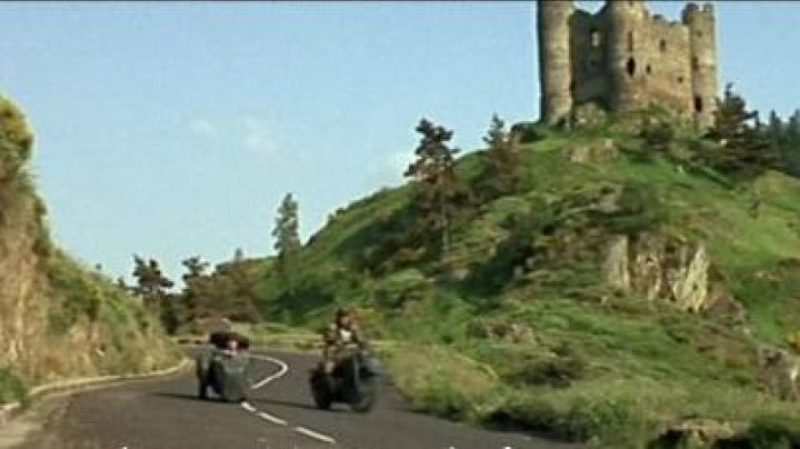 The Castle of Alleuze in the scene of the chase of The Great Mop - Movie Outfits and Products