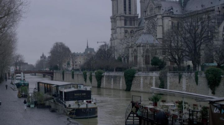 The Cathedral of Notre-Dame de Paris in the film, She - Movie Outfits and Products