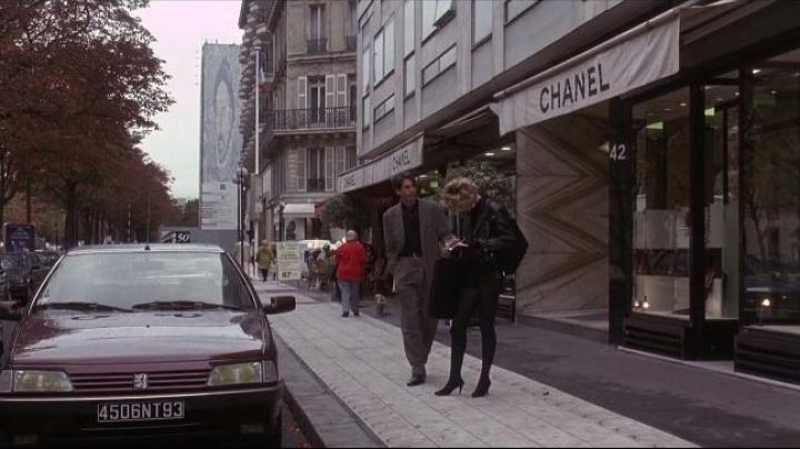 The Chanel Boutique at 42 avenue Montaigne Paris, in the Moons of gall - Movie Outfits and Products