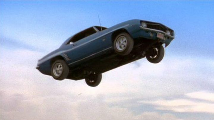 The Chevrolet Camaro Yenko driven by Brian O'conner (Paul Walker) in 2 Fast 2 Furious movie