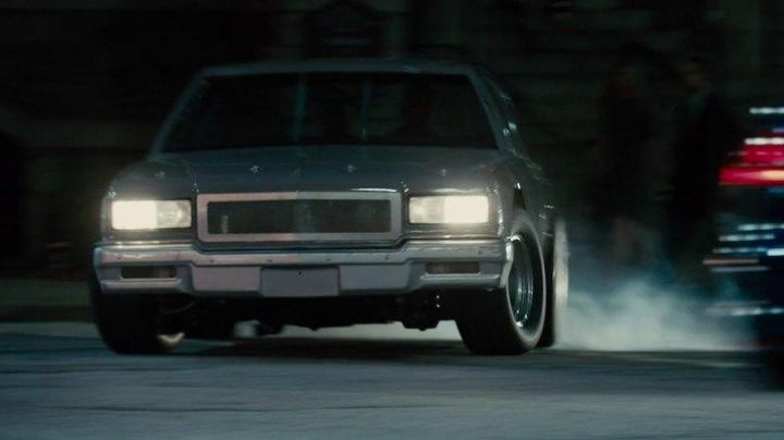 The Chevrolet Caprice of Roman Pierce (Tyrese Gibson) in Fast & Furious 7 movie