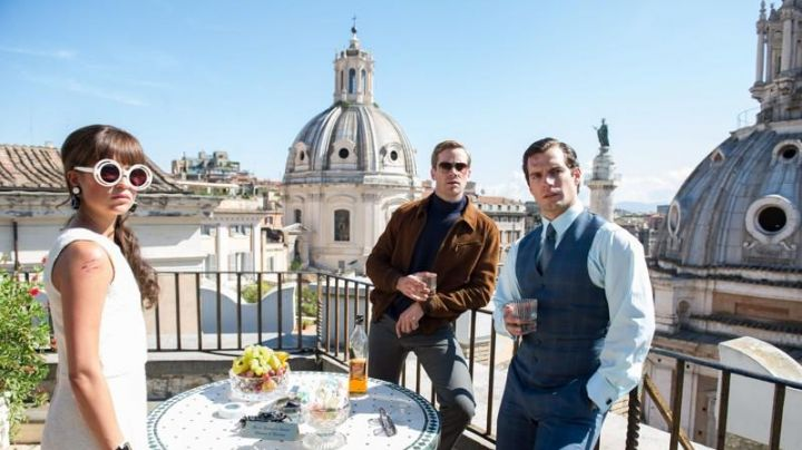 The Church of Santa Maria di Loreto in Rome in the very special Agents, Code UNCLE - Movie Outfits and Products