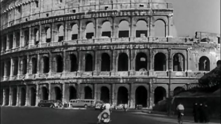 The Colosseum in Rome in Roman Holiday - Movie Outfits and Products