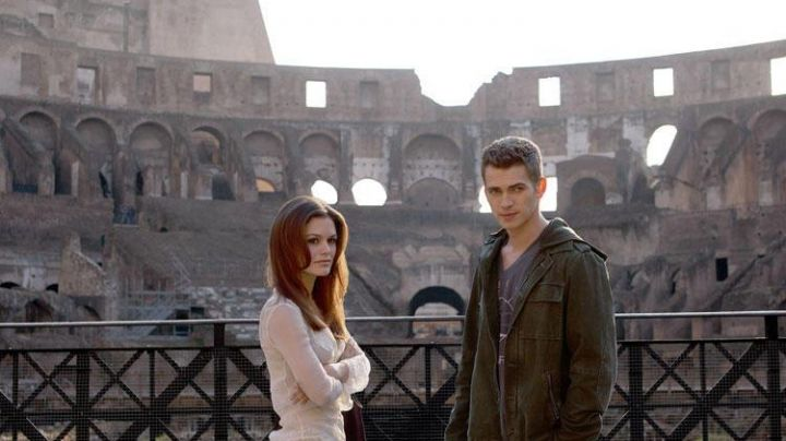 The Colosseum in Rome in the movie Jumper (Hayden Christensen) - Movie Outfits and Products