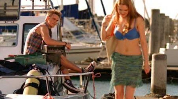 The Converse of Shanes Jones (Riley Smith) in Panic on the coast