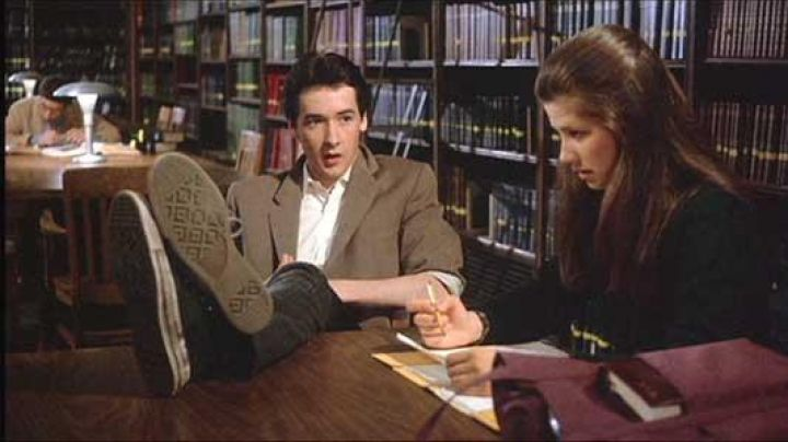 The Converse of Walter Gibson (John Cusack) in Boy shock for nana chic