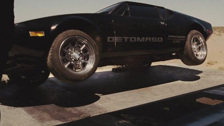 The De Tomaso Pantera of Vince (Matt Schulze) in Fast & the Furious 5 - Movie Outfits and Products