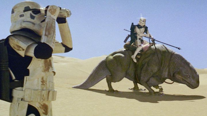 Fashion Trends 2021: The Dewback in Star Wars IV : A new hope