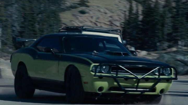 The Dodge Challenger Letty Toretto (Michelle Rodriguez) in Fast & Furious 7 movie