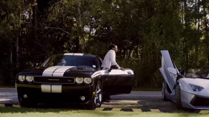 The Dodge Challenger of Derek Luke in Self/less - Movie Outfits and Products