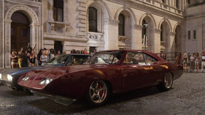 The Dodge Charger Daytona of Vin Diesel in Fast and Furious 6 - Movie Outfits and Products