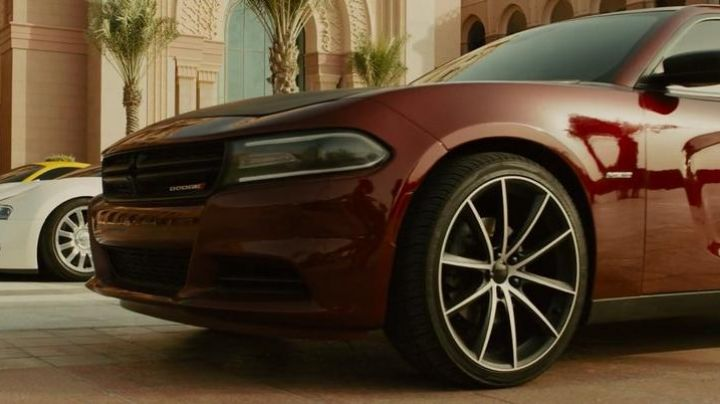 The Dodge charger Dominic Toretto (Vin Diesel) in Fast & Furious 7 movie