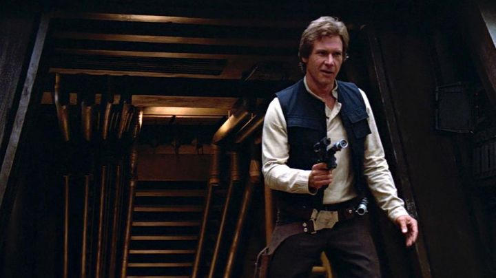 The Droid Caller Han Solo (Harrison Ford) in Star Wars : A New Hope - Movie Outfits and Products