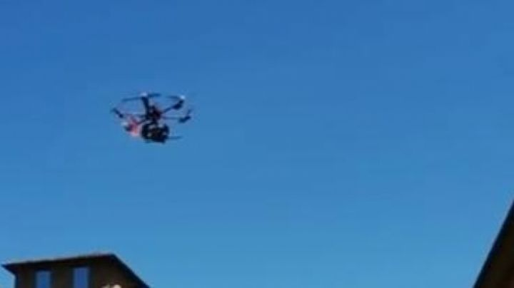 The Drone Spreading Wings S1000+ WHO in Inferno - Movie Outfits and Products