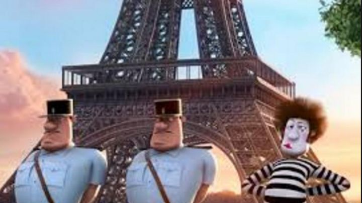 The Eiffel Tower, in Me, Ugly and Nasty - Movie Outfits and Products