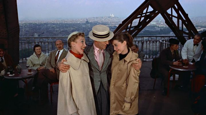 The Eiffel Tower in the film Funny face - Movie Outfits and Products