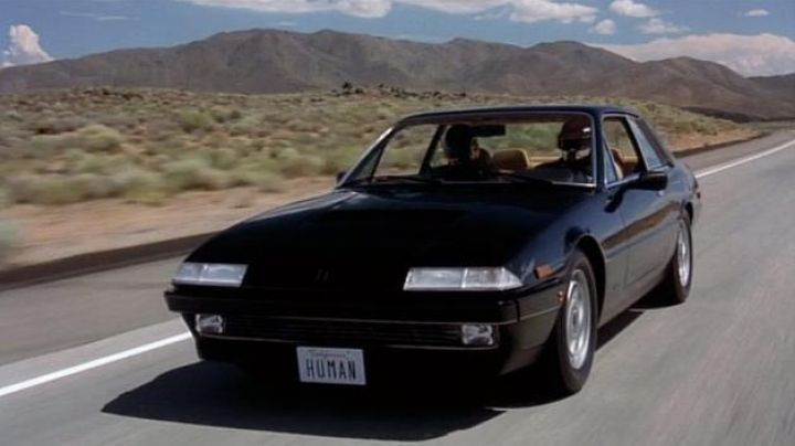 The Ferrari 412 black from Daft Punk in Daft Punk's Electroma - Movie Outfits and Products