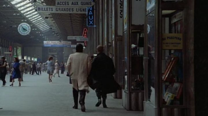 The Gare Saint-Lazare of Paris in the film Diva - Movie Outfits and Products