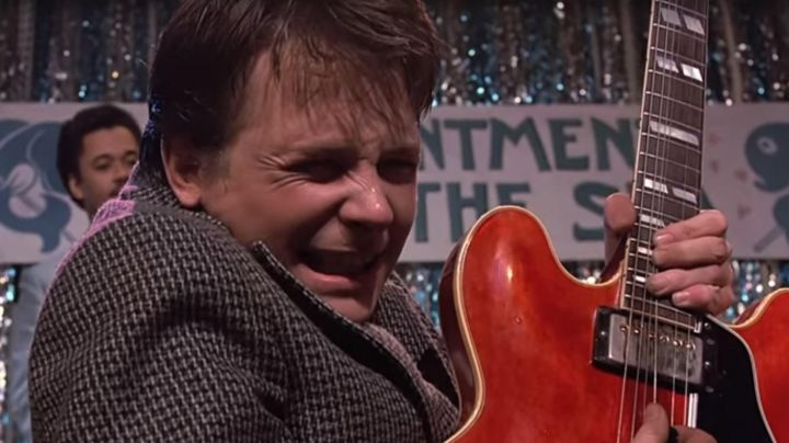 Fashion Trends 2021: The Gibson ES-345 by Marty McFly in Back to the future