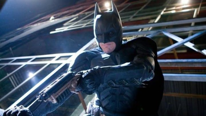 The Grapnel Gun Batman/Bruce Wayne (Christian Bale) in The Dark Knight - Movie Outfits and Products
