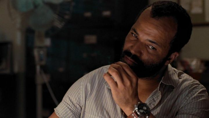 The Hamilton watch worn by Felix Leiter (Jeffrey Wright) in Quantum of Solace - Movie Outfits and Products