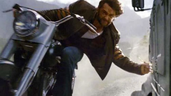 The Harley Davidson Panhead Wolverine (Hugh Jackman) in My Origins : Wolverine - Movie Outfits and Products
