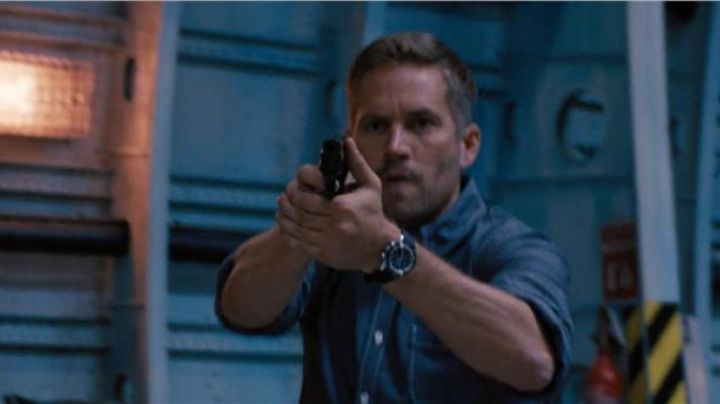 The Jaeger-LeCoultre calibre of Brian O'conner (Paul Walker) in Fast and Furious 6 movie