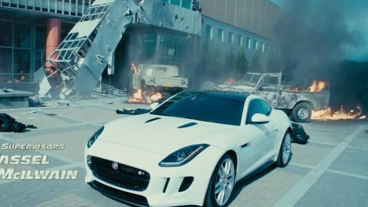 The Jaguar Deckard Shaw (Jason Statham) in Fast & Furious 7 - Movie Outfits and Products