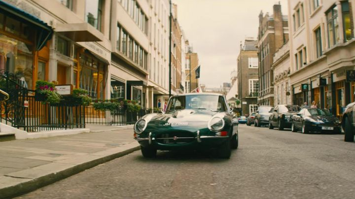 The Jaguar E-Type in Kingsman : The golden Circle - Movie Outfits and Products