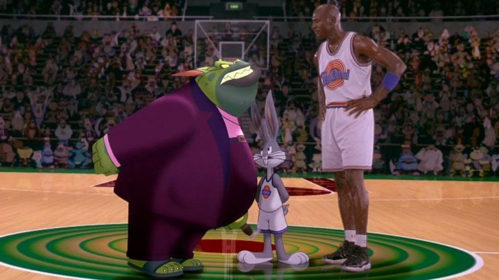 The Jordan 11 Michael Jordan in Space Jam - Movie Outfits and Products