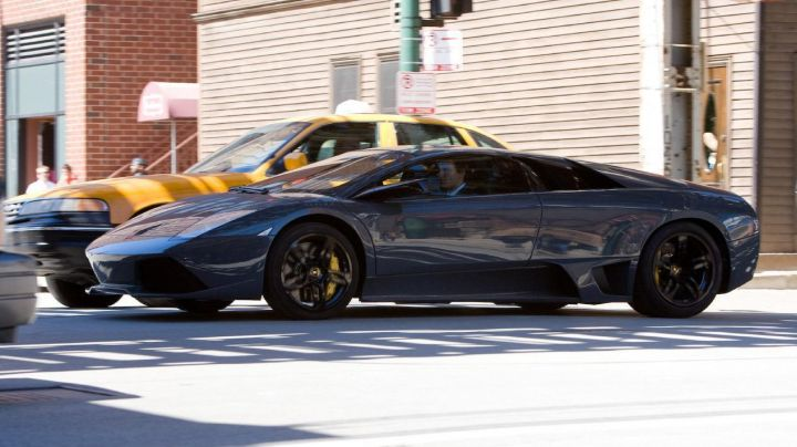 The Lamborghini Murcièlago LP640 of Bruce Wayne in The Dark Knight - Movie Outfits and Products