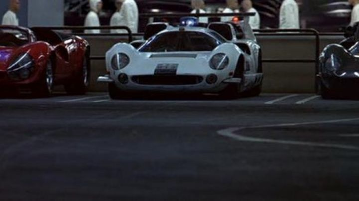 The Lola T70 MkIII of Robert Duvall in THX 1138 - Movie Outfits and Products