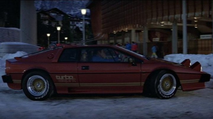 Fashion Trends 2021: The Lotus Esprit Turbo of Roger Moore in For Your Eyes Only