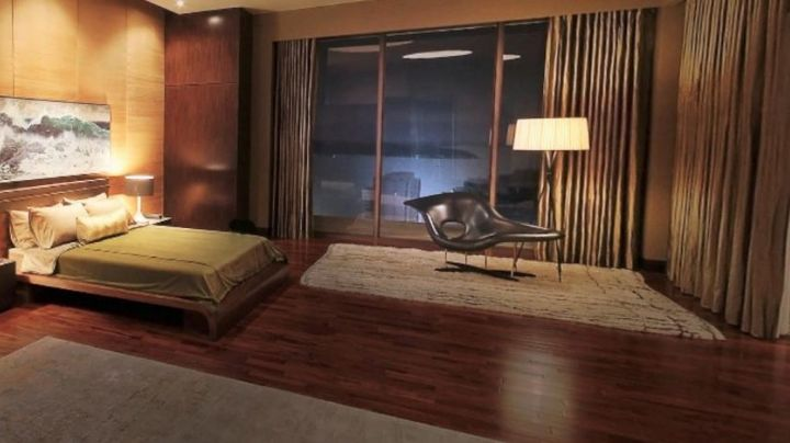 The Lounge Chair Eames at Christian Grey in Fifty shades darker movie