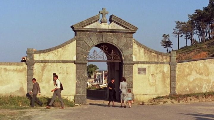 The Marine Cemetery of Saint Tropez in the film And God created woman - Movie Outfits and Products