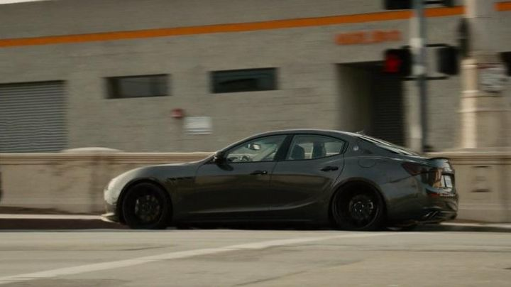 The Maserati Ghibli Deckard Shaw (Jason Statham) in Fast & Furious 7