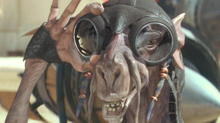 The Mask pilot Sebulba in Star Wars I : The phantom menace - Movie Outfits and Products
