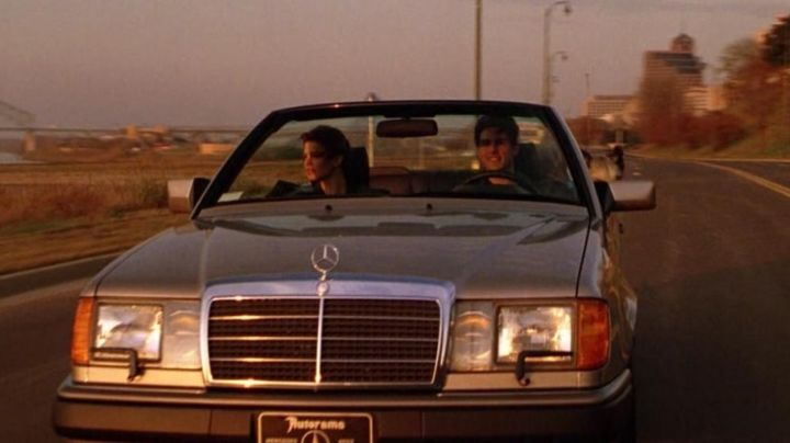 The Mercedes-Benz 300CE Mitch McDeere (Tom Cruise) in The Firm movie