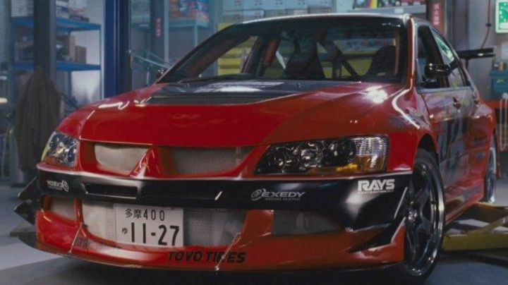 The Mitsubishi Lancer Evolution of Han Lue (Sung Kang) in The Fast and the Furious: Tokyo Drift - Movie Outfits and Products