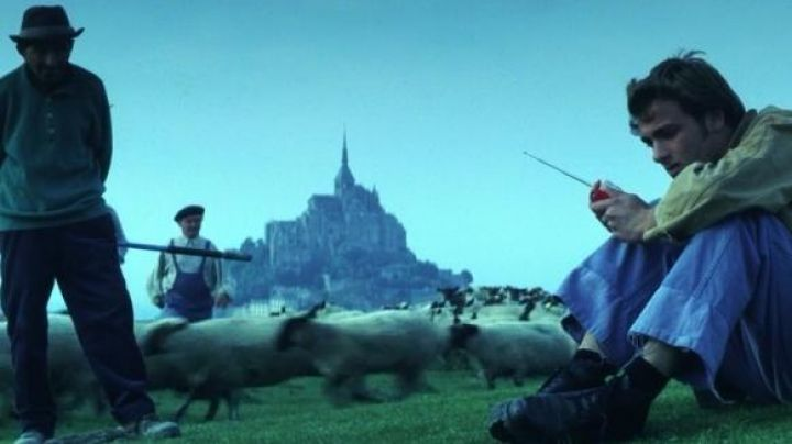 The Mont Saint-Michel in Normandy in Armageddon - Movie Outfits and Products