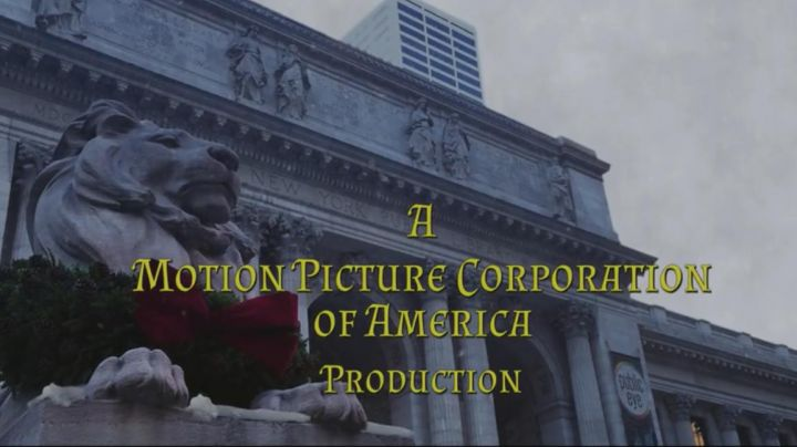 The New York Public Library in the opening credits of the movie, A Christmas Prince - Movie Outfits and Products