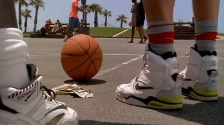 Fashion Trends 2021: The Nike Air Command Billy Hoyle (Woody Harrelson) in White Do Not Know how to Jump