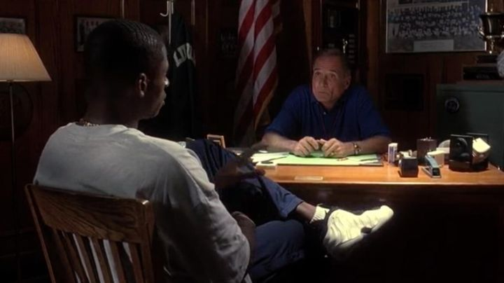 The Nike Air Foamposite from Jesus Shuttlesworth (Ray Allen) in He got game - Movie Outfits and Products