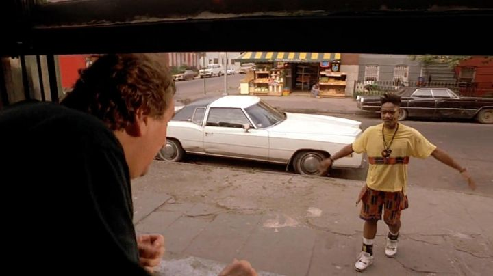 Fashion Trends 2021: The Nike Air Jordan 4 (IV) of Buggin Out (Giancarlo Esposito) in Do The Right Thing