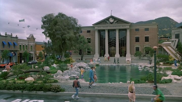 The Nike Air Mag (2011 edition) by Marty McFly (Michael J. Fox) in Back to the future II